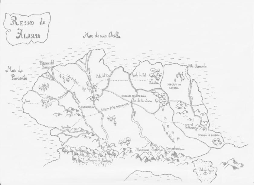 Mapa Alaria